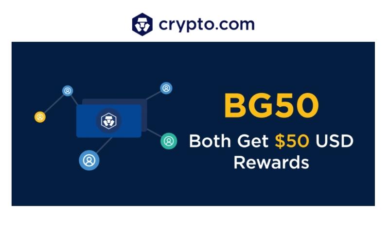 Darmowe 50$ od Crypto.com