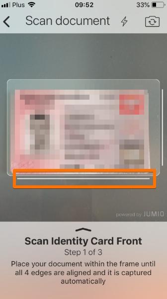 Weryfikacja konta na crypto.com krok 3