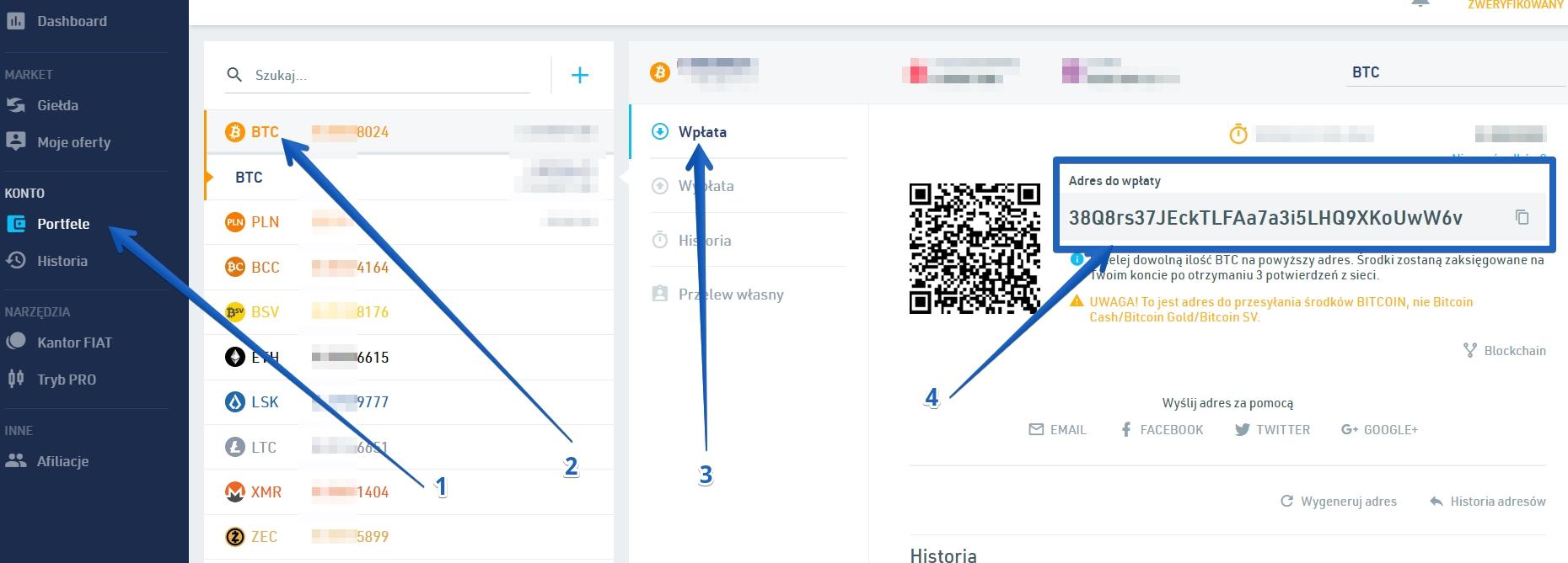 adres portfela bitcoina na bitbay net