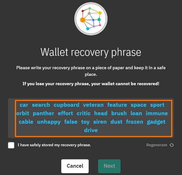Bitcoin jak zacząć - krok 2 założenie portfela