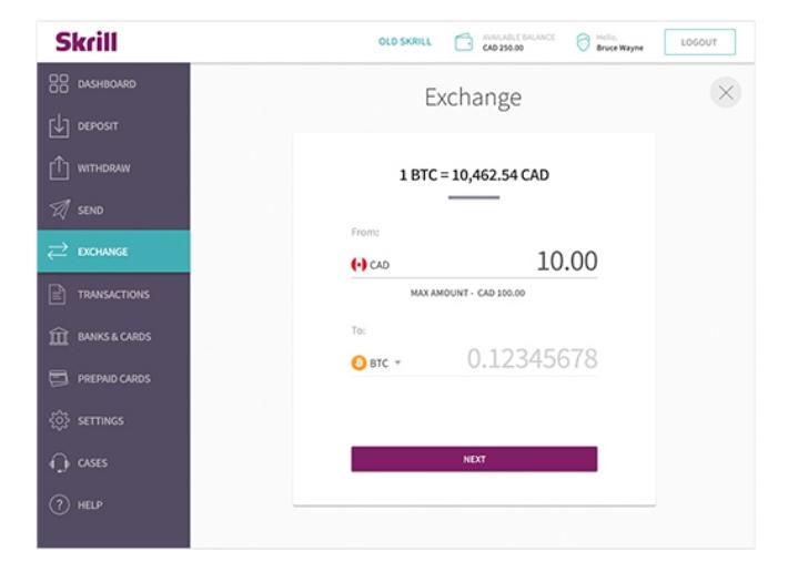skrill la btc schimb cum funcționează bitcoin trade