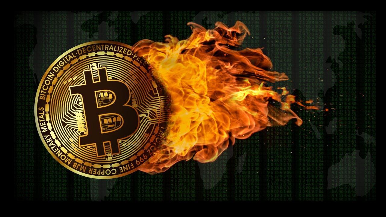 spalanie tokenów monet